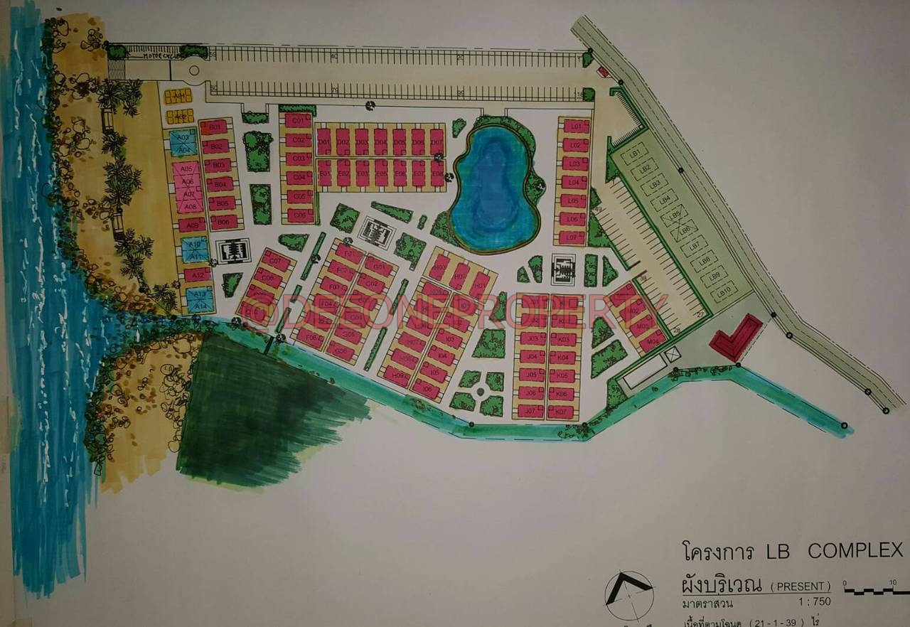 *** Land to Rent in New Commercial Area *** – Lonely Beach, Koh Chang