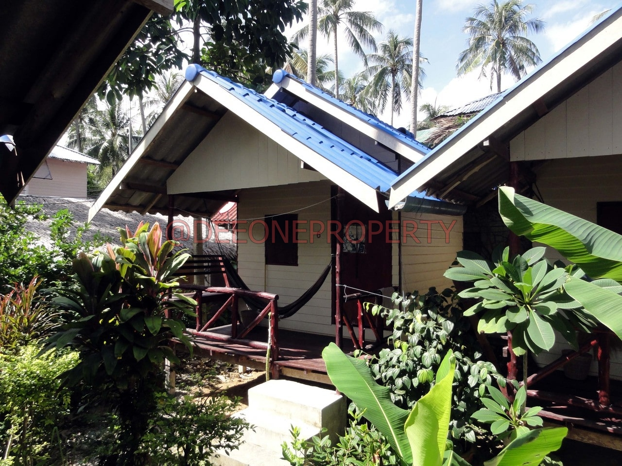 Small 10 Bungalow Resort For Sale Lonely Beach Koh Chang