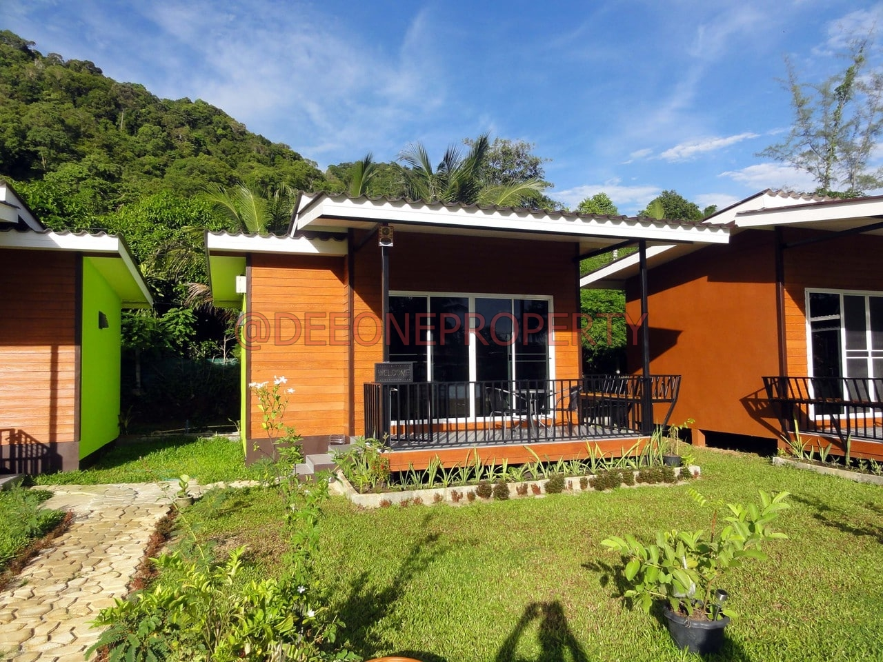 One Bedroom Condos Stylish Bungalow For Rent Kai Bae Koh Chang