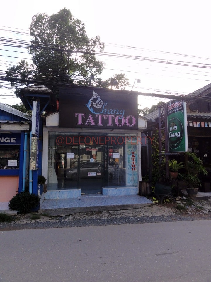 Shop for Rent with Room on the Main road – Kai Bae, Koh Chang