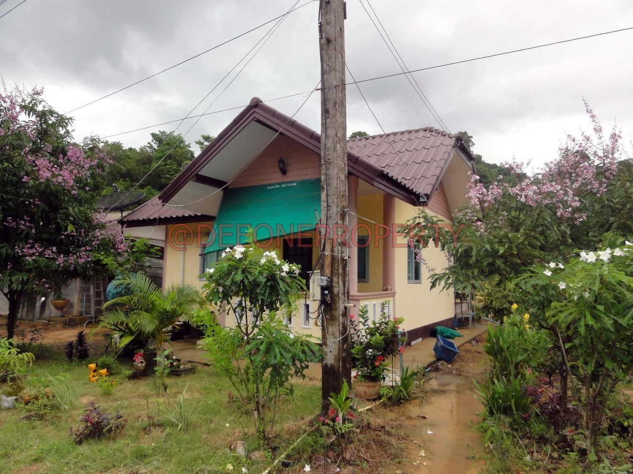 Maison charmante 2 chambres louer klong prao koh chang - Maison 2 chambres a louer ...