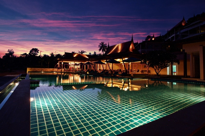 Luxury pool villas for sale klong koi koh chang for Koi pool villa