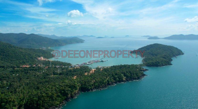 Bang Bao Bay from the air