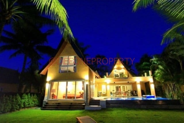 Golf Course & Pool 5 Bedrooms Luxury Villa For Rent – Klong Son, Koh Chang