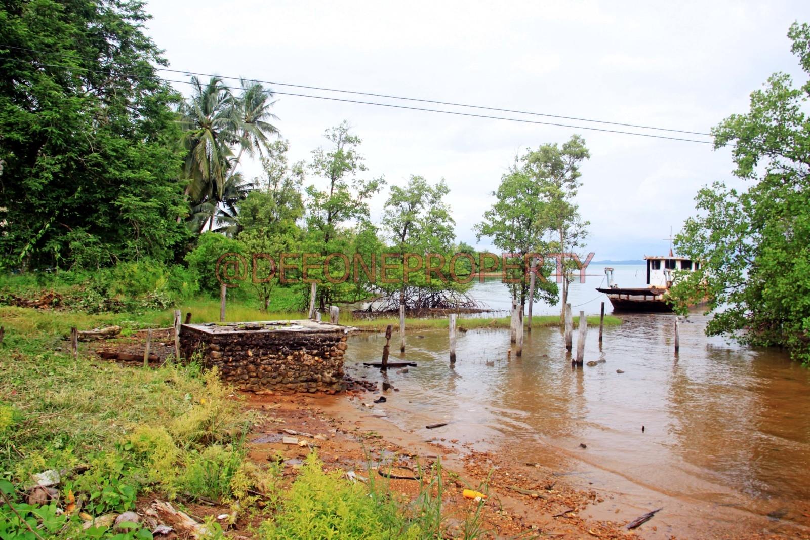 1 Rai Sea Front Land for Sale – North East Coast, Koh Chang