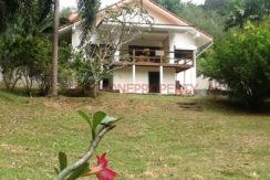 19.Rear of villa with storage below