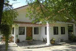 3.Front of villa