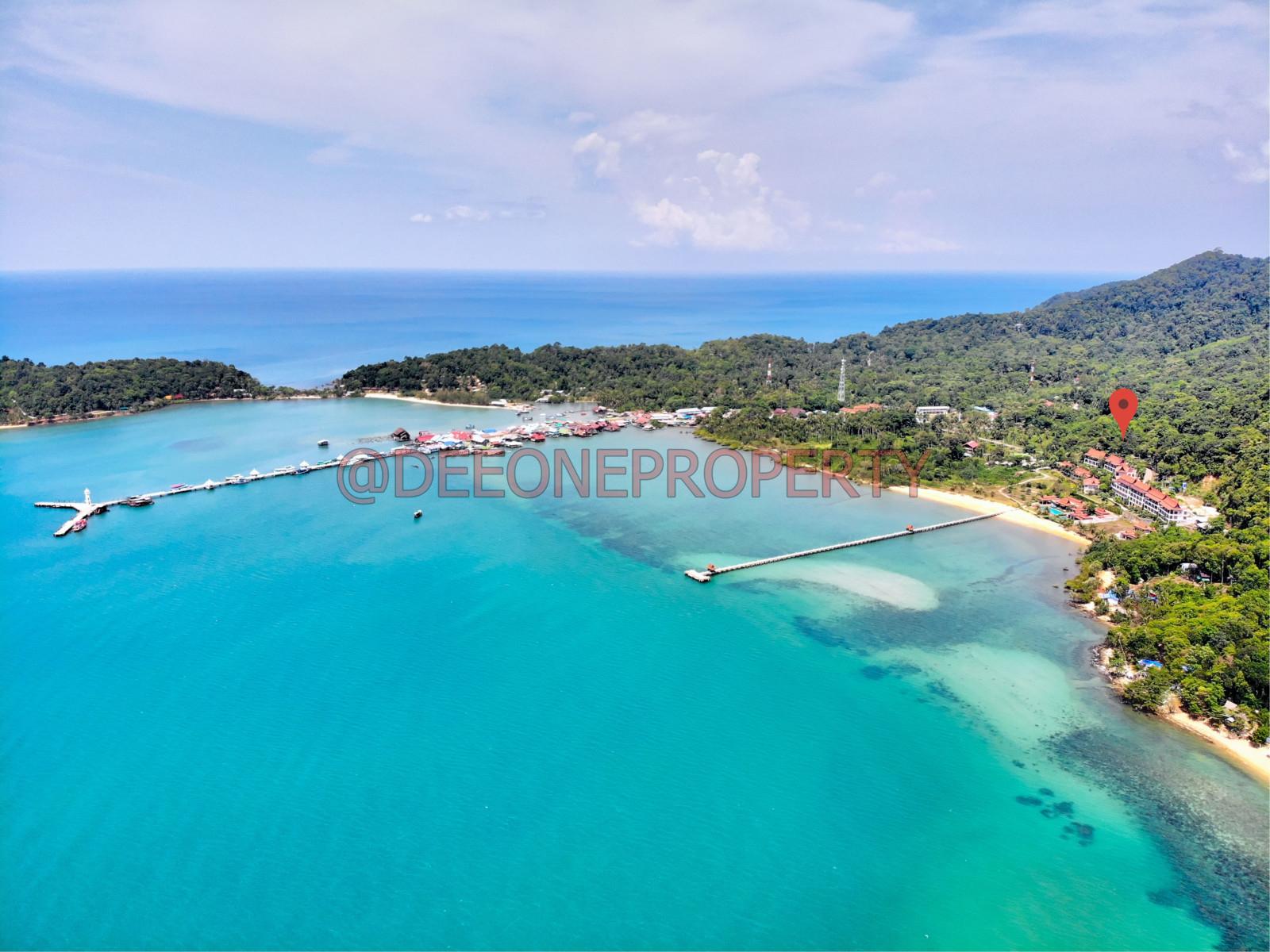 Nice Sea View Land for Sale – Bang Bao, Koh Chang