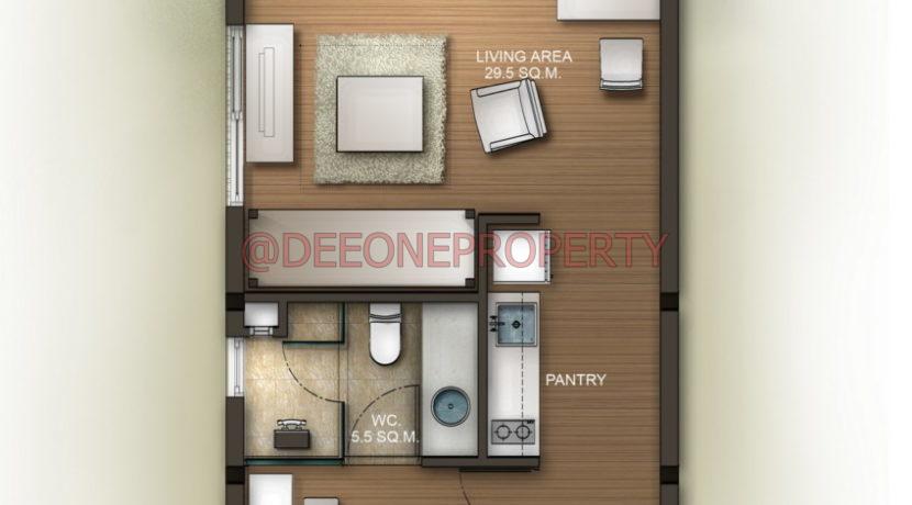 TBR_Floorplan 60 sq.m.Condominium