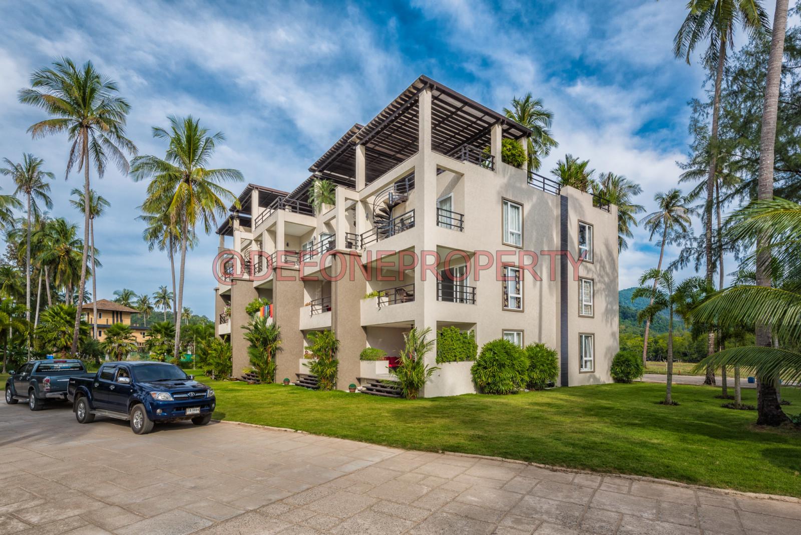 一房公寓連永久地契出售 -喀隆桑 (Klong Son), 象島 (Koh Chang)