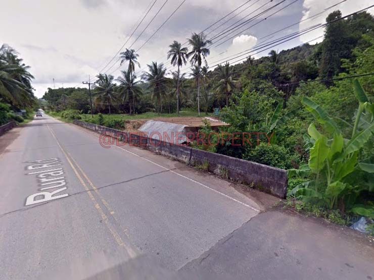 House Plot on Main Road for Sale – Dan Mai, Koh Chang