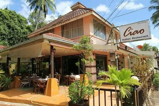 Restaurant with Apartment on Main Road For Sale – Kai Bae, Koh Chang