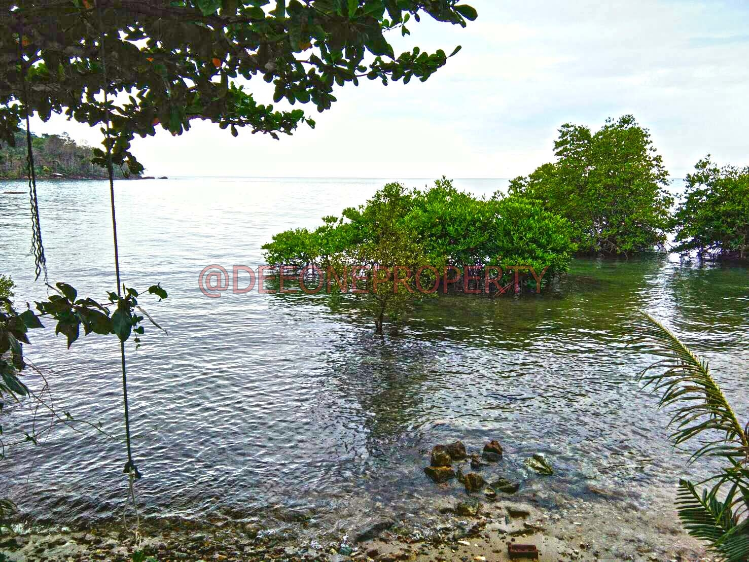 Unique Beachfront Land (Chanote) for Sale – West Coast (South), Koh Chang