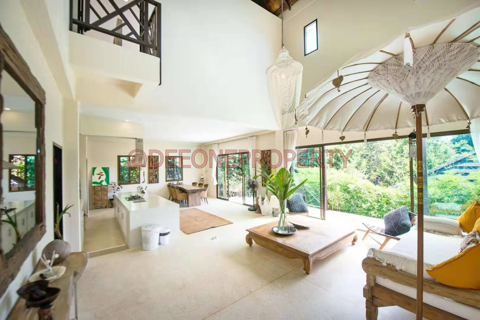 Balinese Pool Villa on Mountain Side for Rent – South West Coast, Koh Chang
