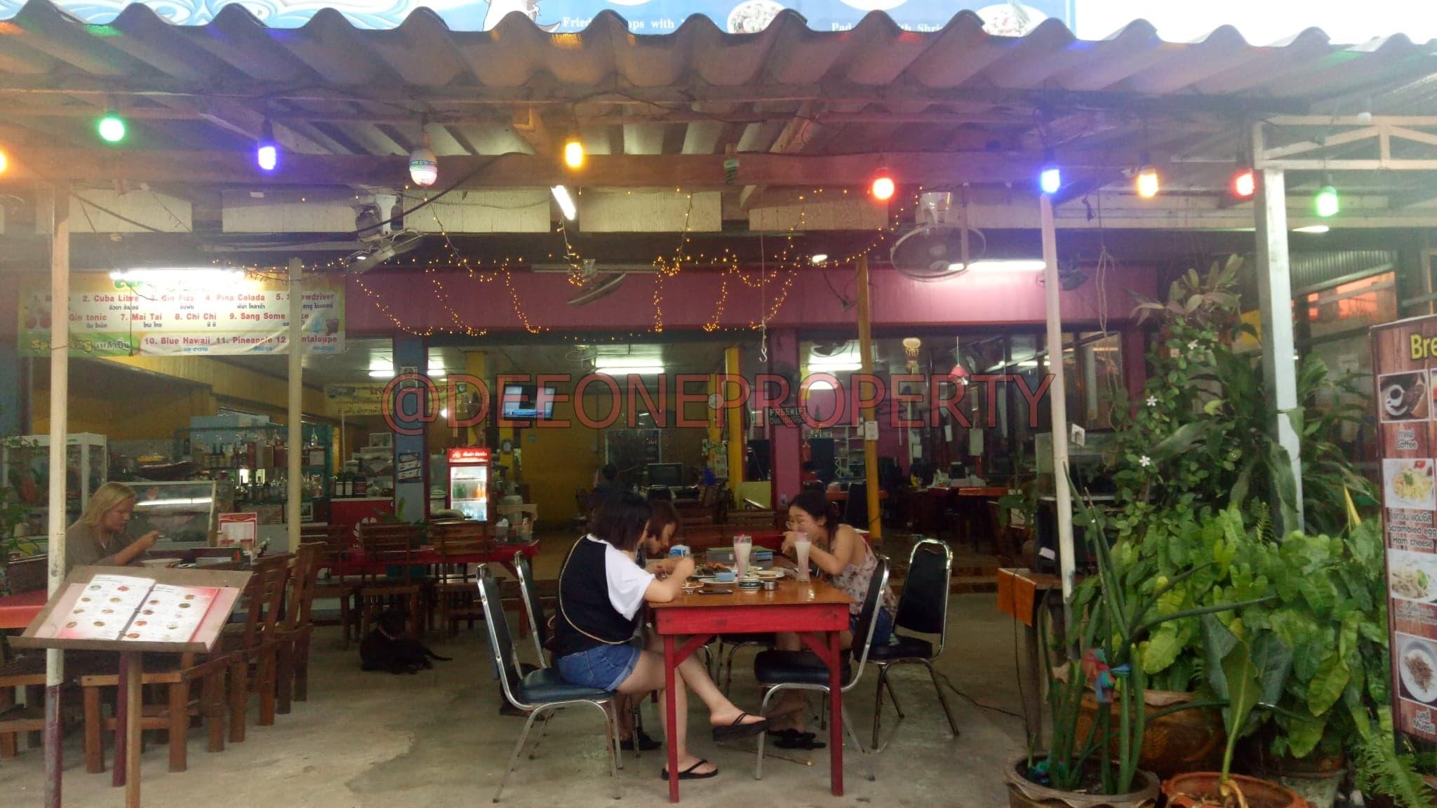 Big Thai Restaurant For Rent in Center – Klong Prao, Koh Chang