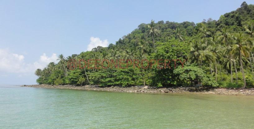 独特私人海滩土地出售 – 库德岛(Koh Kut)