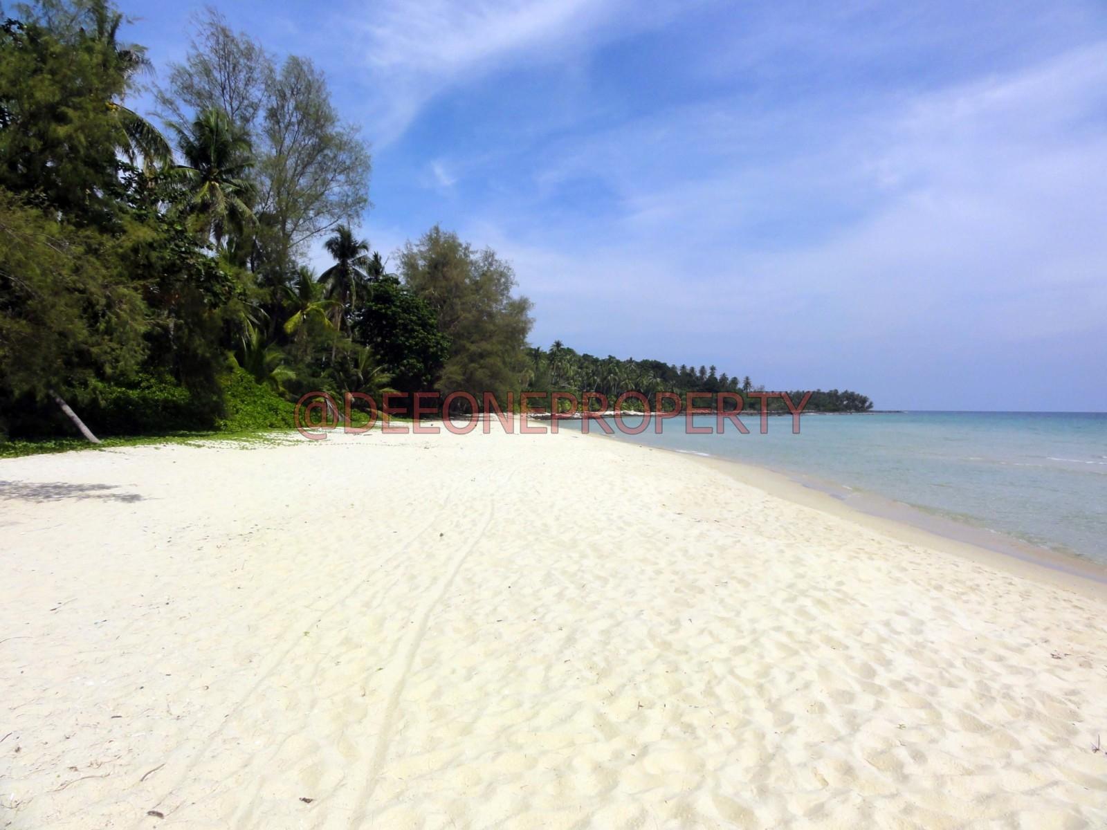 三块风景迷人海滨土地出售 – 库德岛 (Koh Kut)