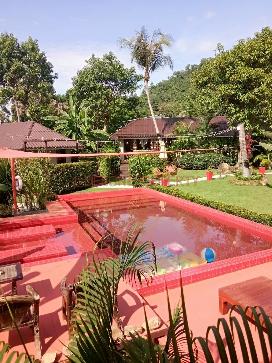 Beautiful Resort with Swimming Pool for Sale – Bailan, Koh Chang