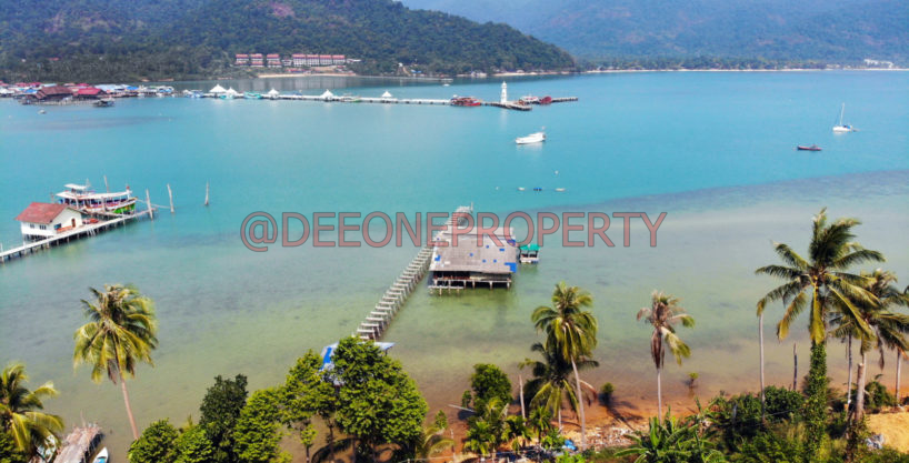 Amazing Sea Front Land for Sale – Bang Bao, Koh Chang