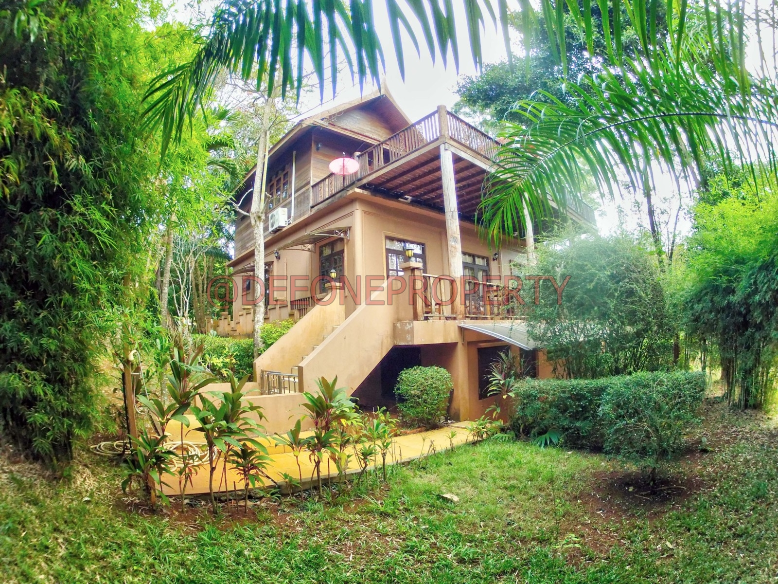 3 Floor Teak Wood Villa for Sale – Koh Mak