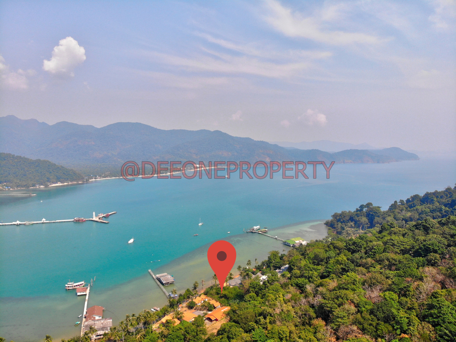 Amazing Sea Front Land for Sale – Bang Bao, Koh Chang