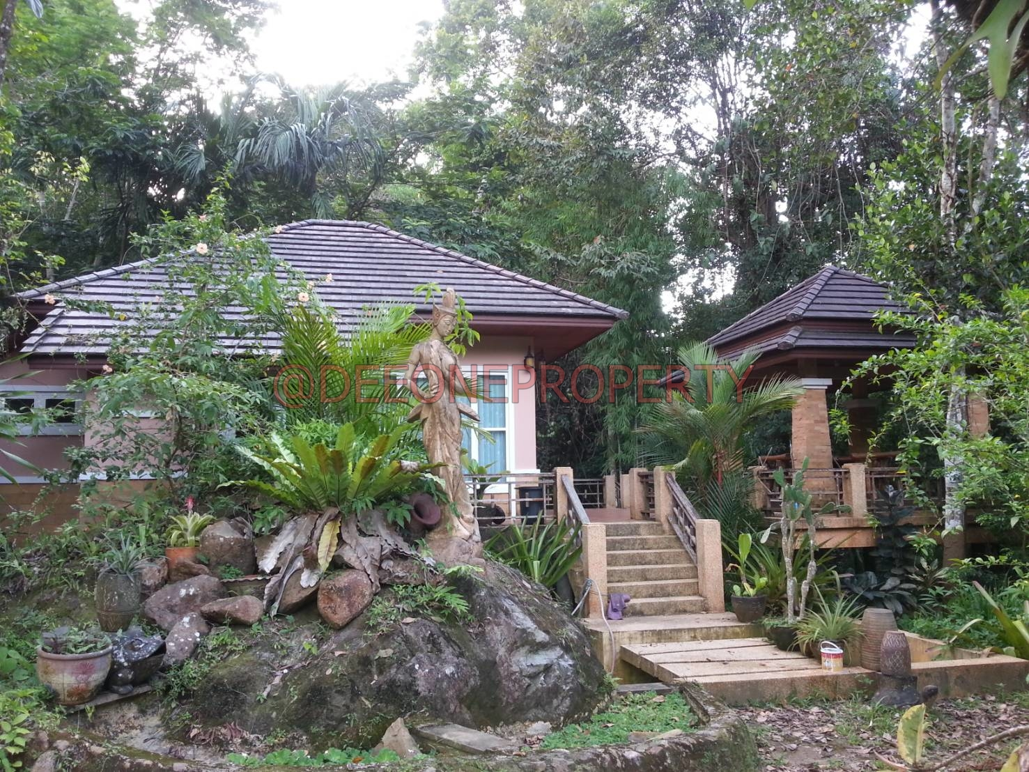 House with Land near Waterfall for Sale – Klong Son, Koh Chang