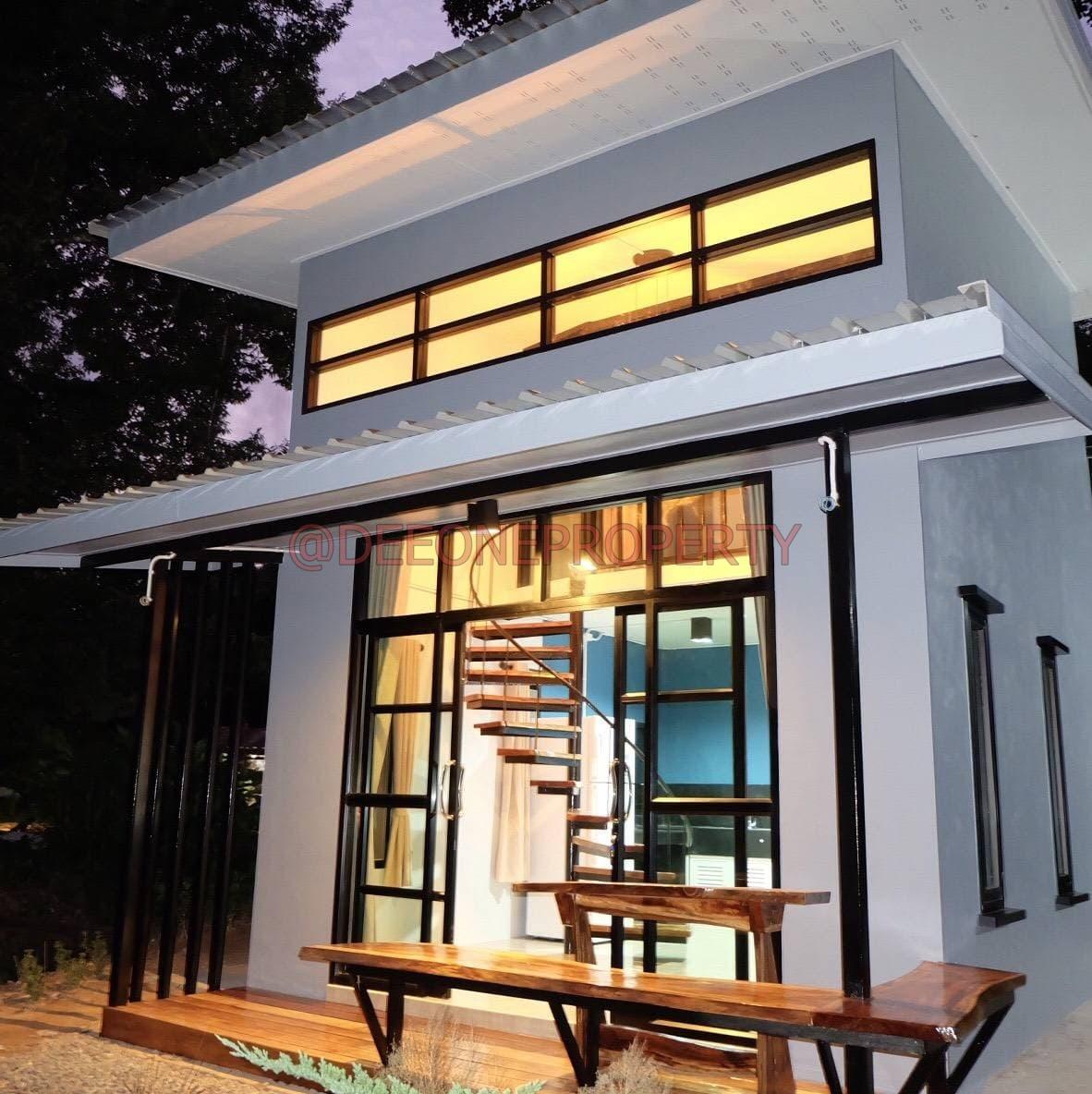 Modern 2 Storey 1 Bedroom House for Rent – Chaiya Chet, Koh Chang