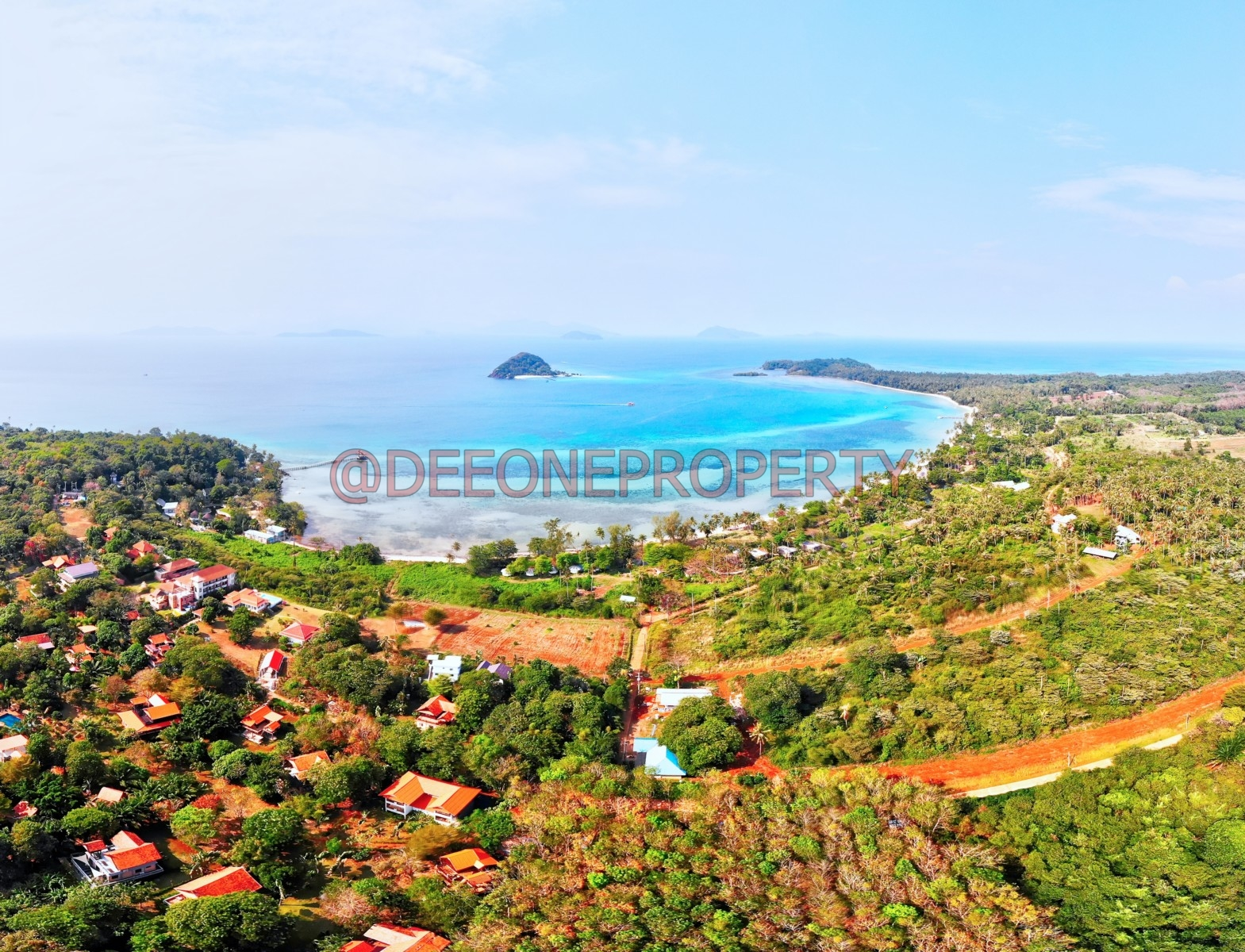 Land Plot from 1 Rai Centrally Located for Sale – Koh Mak