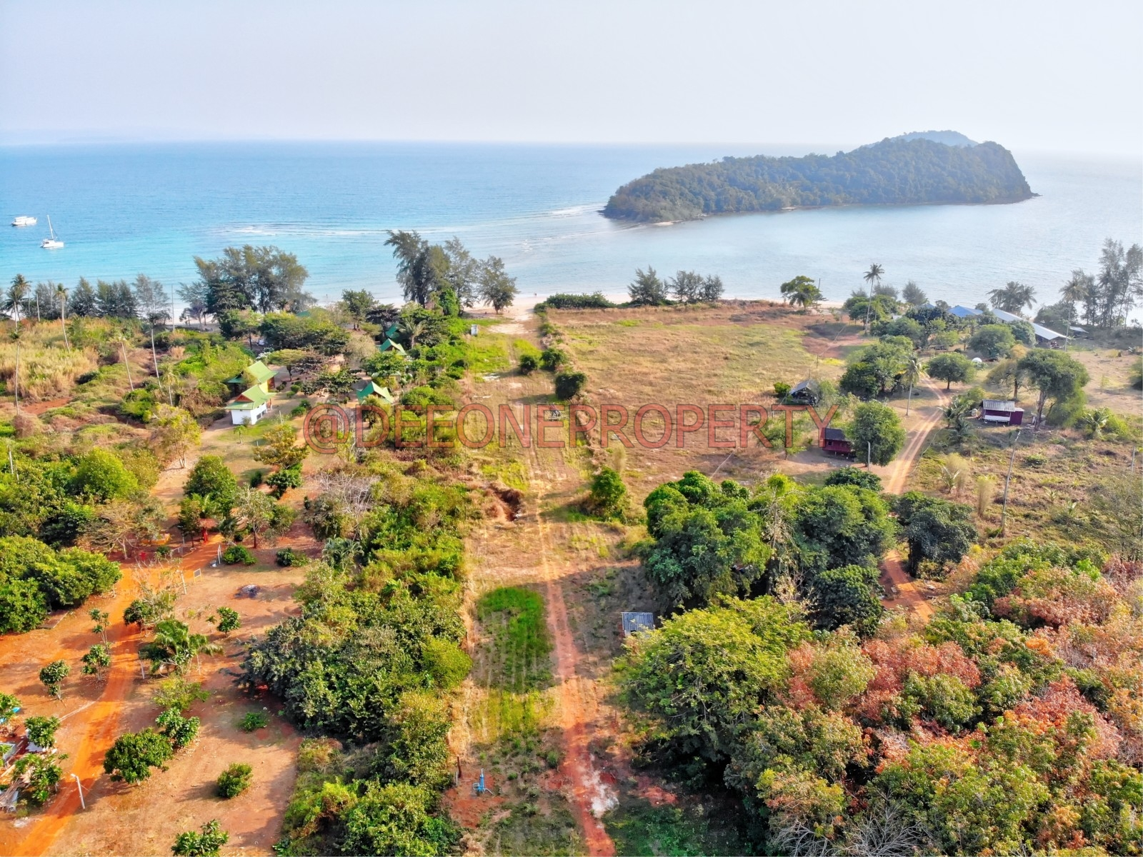 Small Land with Beach Access for Sale – Koh Mak