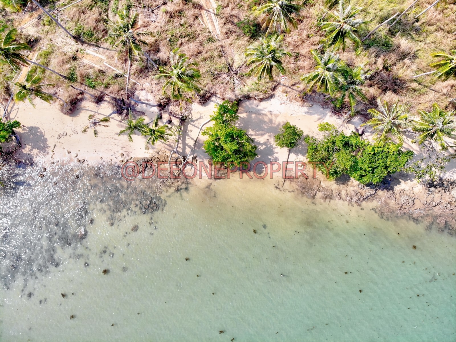 Paradise Beachfront Land Available Now for Sale – Koh Mak