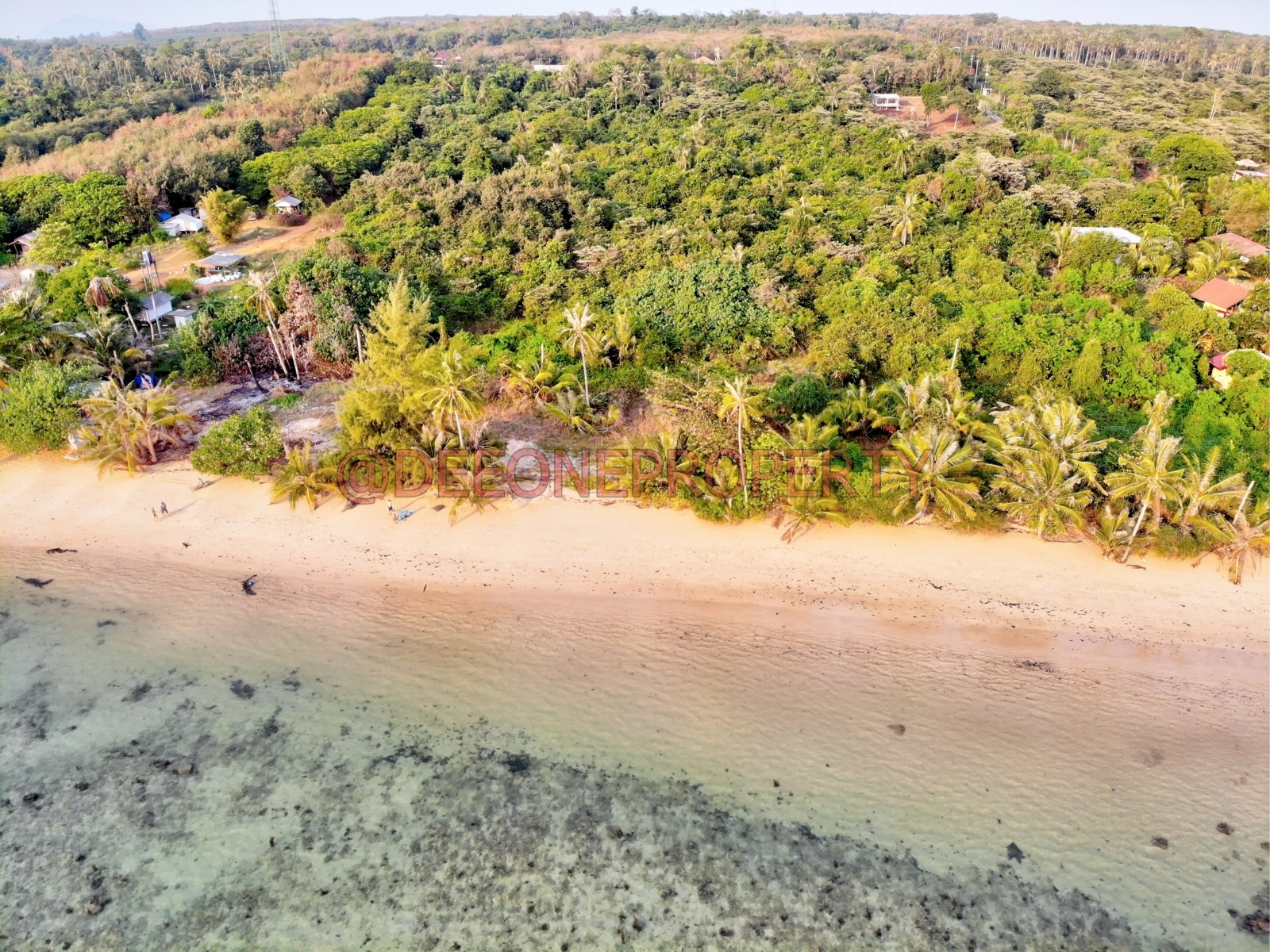 3 Beachfront Land in Popular Area for Sale – Koh Mak