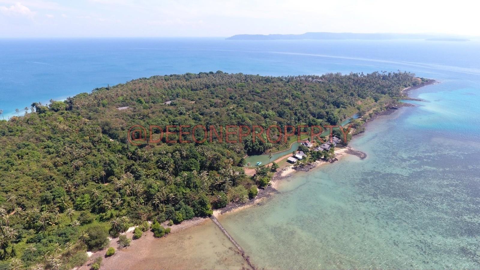 宽大海滨土地出售 – 玛克岛(Koh Mak)