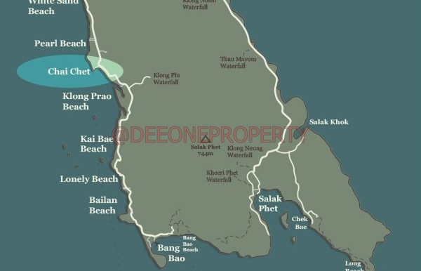 Map of Koh Chang internet