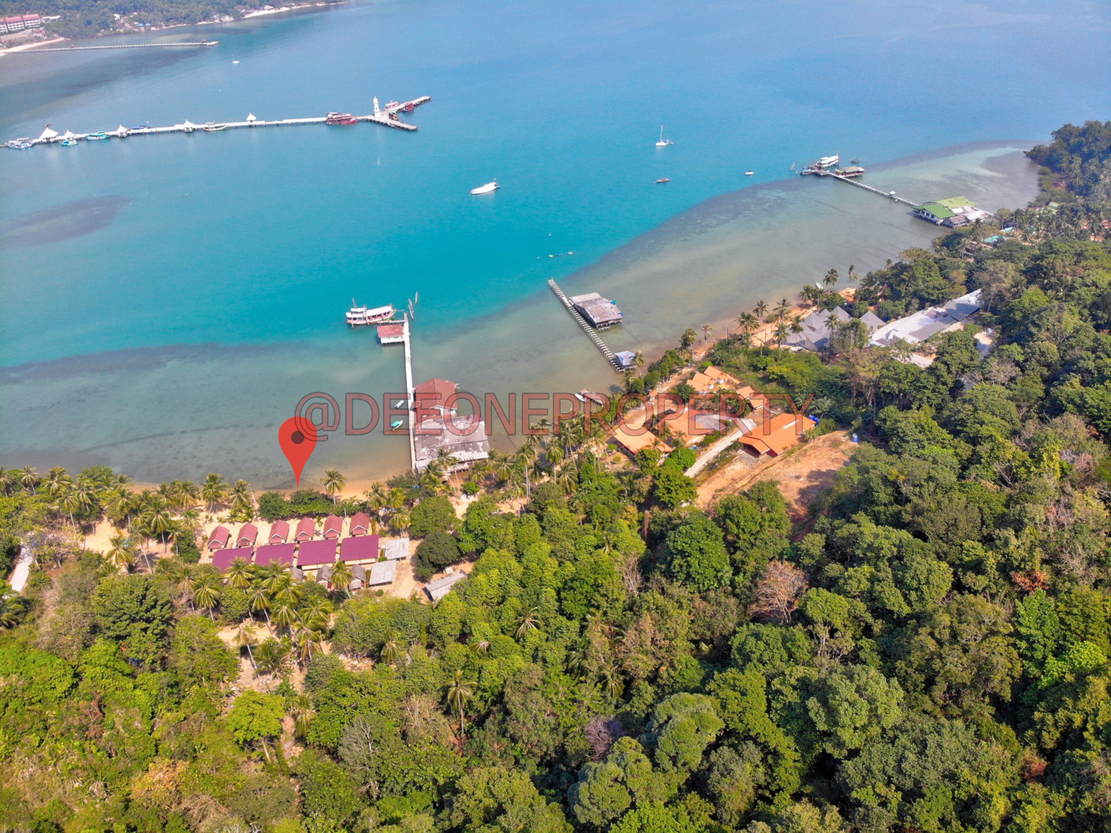 Beachfront Guest House for Rent – Bang Bao, Koh Chang