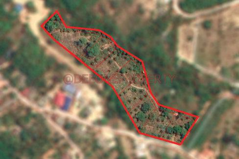 Land Office Map Blur