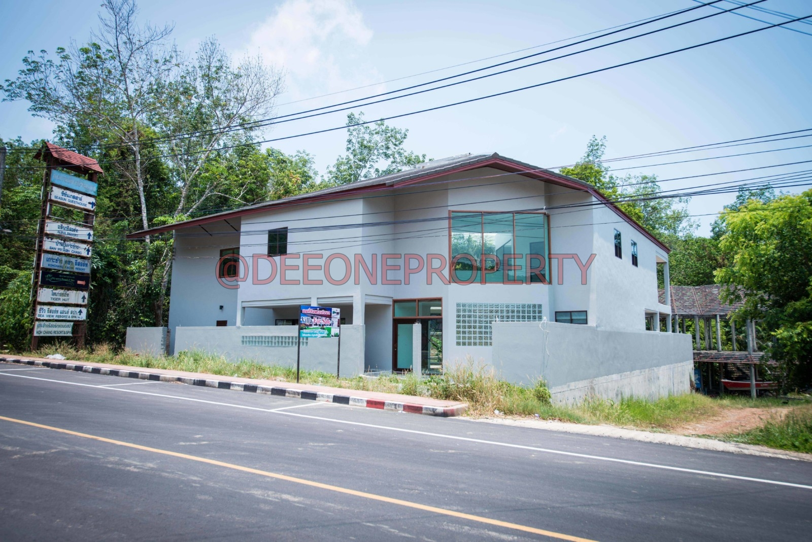 Land + Massive Villa for Sale – North East Coast, Koh Chang
